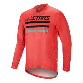 Dres - ALPINESTARS Mesa LS v2 2019 - Bright red
