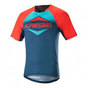 Dres - ALPINESTARS Mesa SS 2018 - Energy Orange/Poseidon Blue