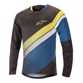 Dres - ALPINESTARS Predator LS 2018 - Black/Royal Blue/Acid Yellow