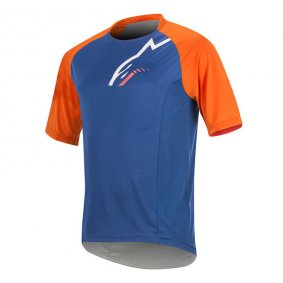 Dres - ALPINESTARS Trailstar SS 2018 - Royal Blue Bright Orange