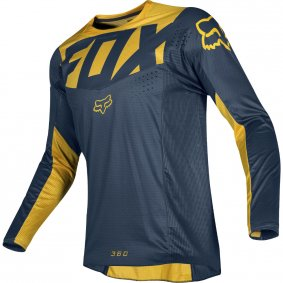 Dres - FOX 360 Kila Jersey 2019 - Navy/Yellow