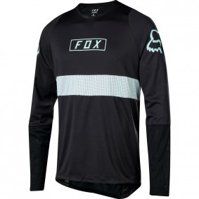 Dres - FOX Defend Ls Fox Jersey 2019 - Black