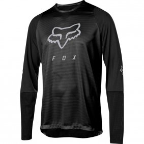 Dres - FOX Defend Ls Foxhead Jersey 2019 - Black