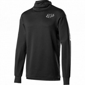 Dres - FOX Defend Thermo Hooded Jersey 2019 - Black