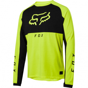 Dres - FOX Ranger Dr LS Mid Jersey 2020 - Day Glow Yellow