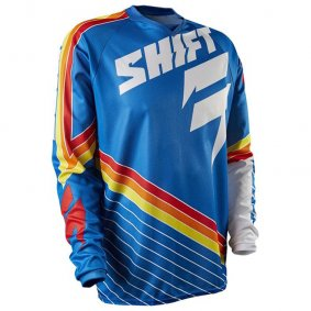 Dres - SHIFT Strike Stripes 2015 - modrá