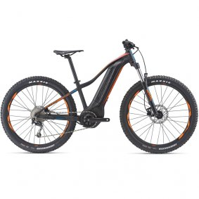 Elektro kolo - GIANT Fathom E+ 3 POWER 27,5+ 2019 - Black/Orange/Petrol