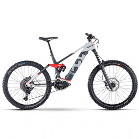 Elektro kolo - HUSQVARNA Hard Cross 7 2021 - Grey / Anthracite / Red Matt