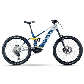 Elektro kolo - HUSQVARNA Hard Cross 8 2021 - Blue/White/Yellow