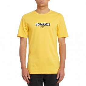 Triko - VOLCOM For Never Bsc Ss - Citrus Gold