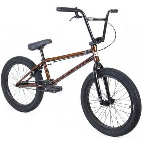 "Freestyle BMX kolo - CULT Control 20,75"" 2020 - Trans Brown"
