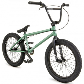 "Freestyle BMX kolo - FLY BIKES Neutron 20,75"" LHD 2021 - Flat Forest Green"