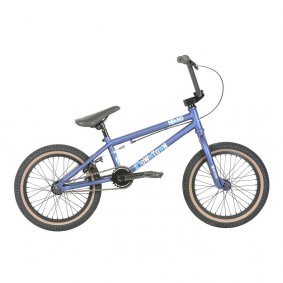 "Freestyle BMX kolo - HARO Downtown 16"" 2019 - Matt Blue"