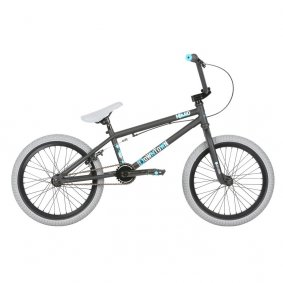 "Freestyle BMX kolo - HARO Downtown 18"" 2019 - Black/Blue"