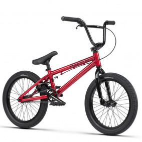 "Freestyle BMX kolo - RADIO Dice 18"" 2021 - Candy Red"