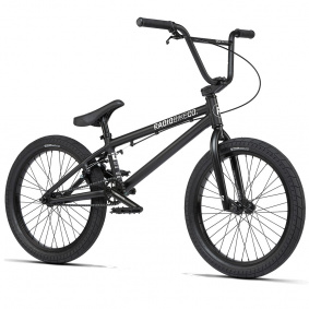 "Freestyle BMX kolo - RADIO Dice 20"" 2021 - Matt Black"