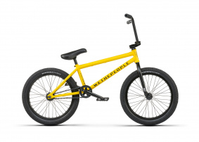 "Freestyle BMX kolo - WE THE PEOPLE Justice 20,75"" 2021 - Taxi Yellow"