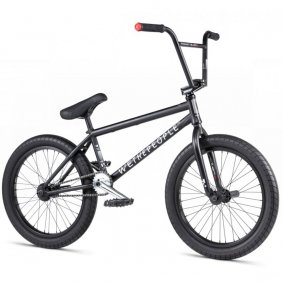 "Freestyle BMX kolo - WE THE PEOPLE Reason 20,75"" 2020 - Matt Black"