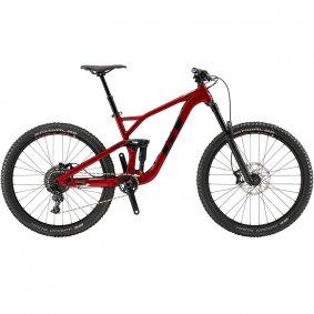 "Horské All-Mountain/Enduro kolo - GT Force 27,5"" Comp 2019 - červená"