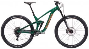 Horské Enduro / All-Mountain kolo - KONA Process 153 29 2019 - zelená