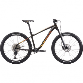Horské MTB kolo - KONA Blast 2021 - Gloss Chocolate / Yellow