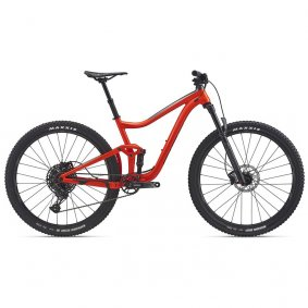"Horské Trail / All-Mountain MTB kolo - GIANT Trance 29"" 3. 2020 - červená"
