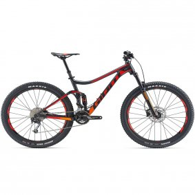 Horské Trail MTB kolo - GIANT Stance 27,5 2 2019 - Black/Red