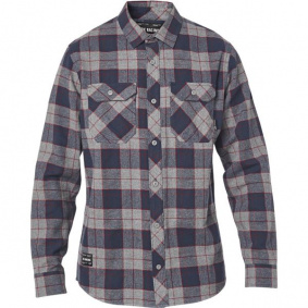 Košile - FOX Traildust 2.0 Flannel 2020 - Heather Graphite