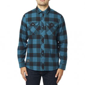 Košile - FOX Traildust 2.0 Flannel 2020 - Midnight Blue