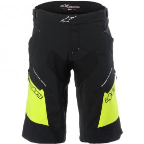 Kraťasy - ALPINESTARS Drop 2 2018 - Black/Acid Yellow