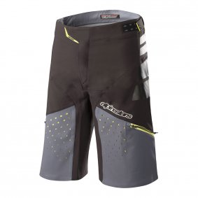 Kraťasy - ALPINESTARS Drop Pro 2018 - Black/Steel Grey
