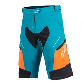 Kraťasy - ALPINESTARS Stella Drop 2 2018 - Ocean Bright Orange