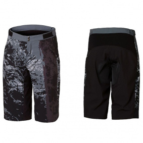Kraťasy - DARTMOOR Woods Tech Shorts - Graphite/Black