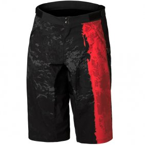 Kraťasy - DARTMOOR Woods Tech Shorts - Red Devil/Black