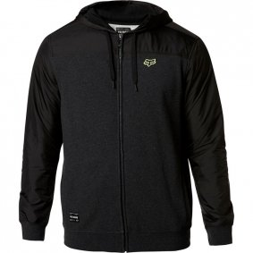 Mikina - FOX Pivot Zip Fleece 2020 - Heather Black