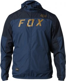Bunda - FOX Moth Windbreaker Jacket 2020 - Indigo