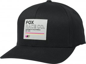 Čepice - FOX Analog Flexfit Hat 2020 - Black