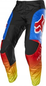 Kalhoty - FOX 180 Fyce Pant 2020 - Blue/Red