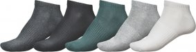 Ponožky - GLOBE Hilite Ankle Sock 5 Pack Assorted