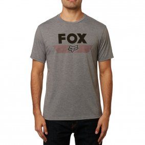 Triko - FOX Aviator Ss Tech Tee 2019 - Heather Graphite