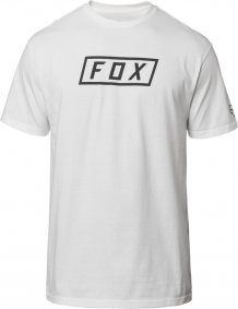 Triko - FOX Boxer Ss Tech Tee 2019 - Optic White