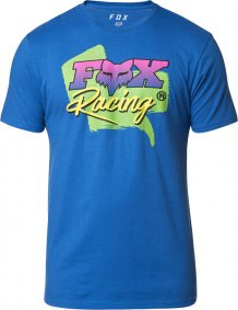 Triko - FOX Castr Ss Premium Tee 2020 - Royal Blue
