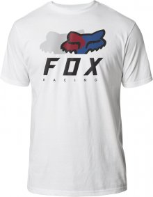 Triko - FOX Chromatic Ss Premium Tee 2020 - Optic White