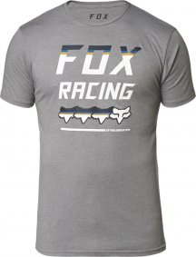 Triko - FOX Full Count Ss Premium Tee 2020 - Heather Graphite