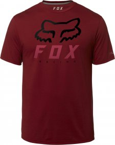 Triko - FOX Heritage Forger Ss Tech Tee 2019 - červená