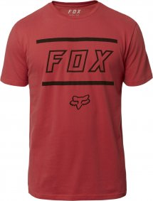 Triko - FOX  Midway Ss Airline Tee 2019 - Rio Red