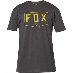Triko - FOX Shield Ss Premium Tee 2020 - Black/Gold