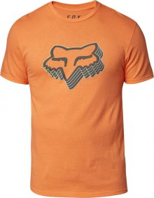Triko - FOX Warp Speed Ss Tee 2020 - Orange Flame
