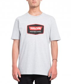 Triko - VOLCOM Cresticle Bsc Ss 2019 - Heather Grey
