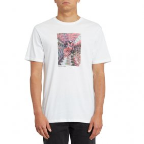 Triko - VOLCOM Earth People Bsc Ss - White